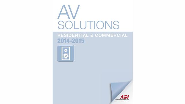 ADI Releases 2014-2015 AV Solutions Catalog