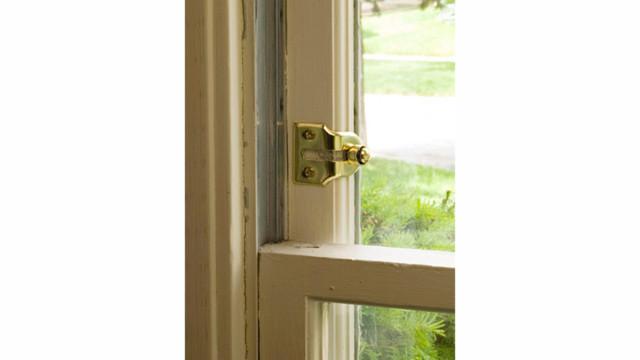 Double Hung Window Security Bar : Window and sliding glass door locks locksmith ledger