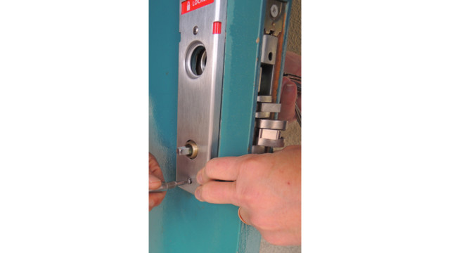 Classroom Security Upgrade Schlage Mortise Indicator Lock