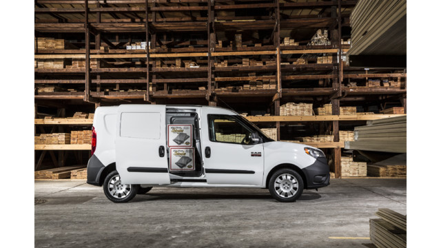 2015 Ram ProMaster City: A New Service Van Option