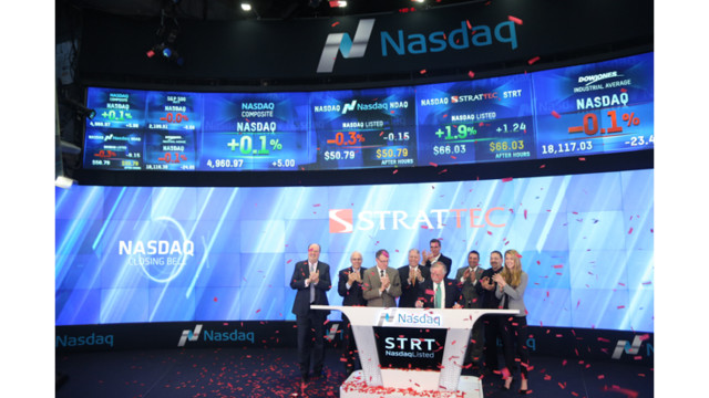 STRATTEC Rings Closing NASDAQ Bell