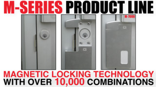 M-7000 Magnetic Cylinder Shield & Latch Guard