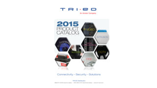 Tri-Ed Releases 2015 Product Catalog