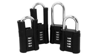 Front-Facing Combination Padlock