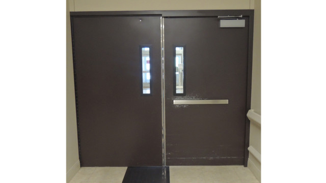 DEC 05 Pair RITE Doors With Top Rod Only Exit Device and Door Closers 54f89505b3294  sc 1 st  Locksmith Ledger & Delayed Egress | Locksmith Ledger