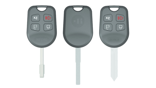 Ford Remote Head Keys