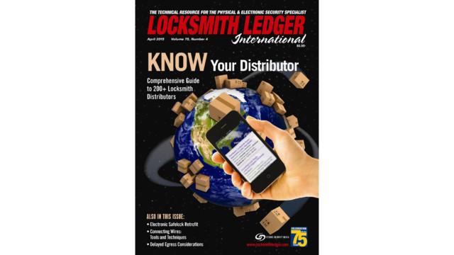 Know Your Distributor 2015 Locksmith Ledger