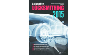 Automotive Locksmithing 2015