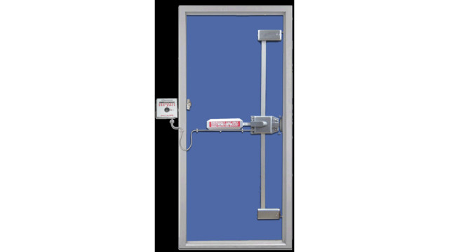 Trident with Battery alarm TEL A10 Securitech 56537b9e9e2e2  sc 1 st  Locksmith Ledger & Exit Alarms: Donu0027t Leave Money on the Table | Locksmith Ledger
