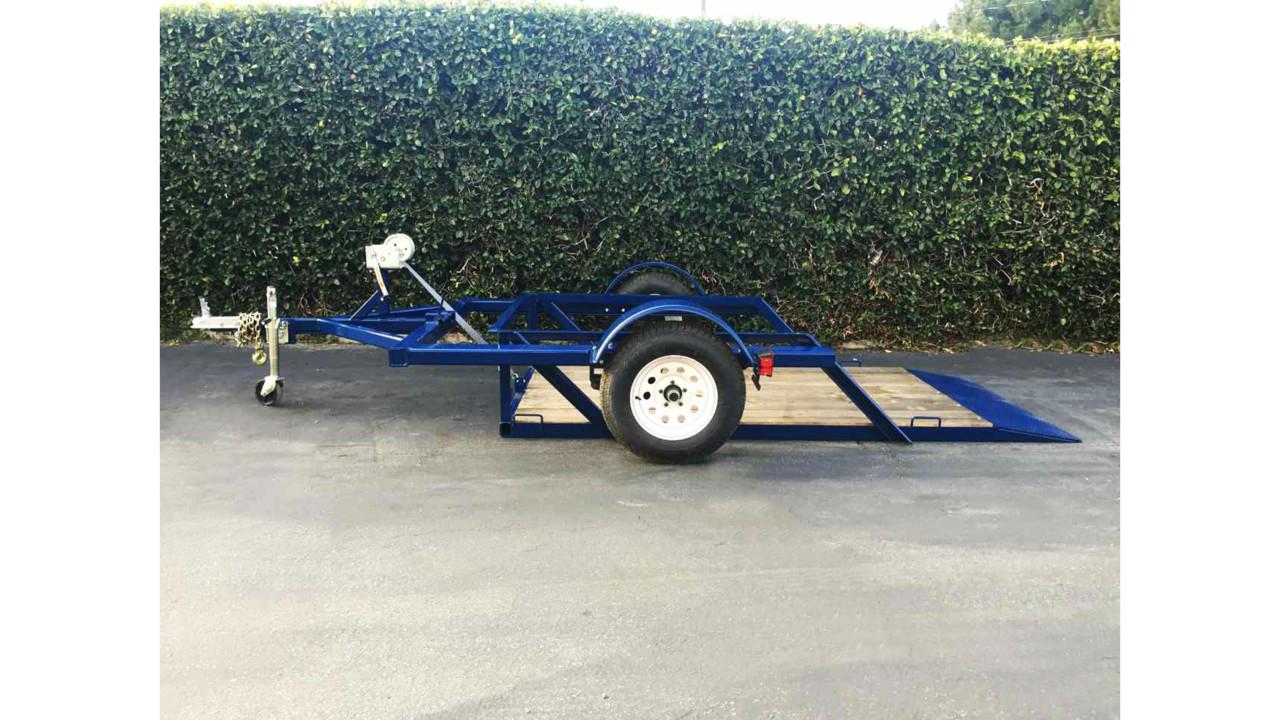 Airtow 2 000 Pound Capacity Drop Deck Trailer Locksmith