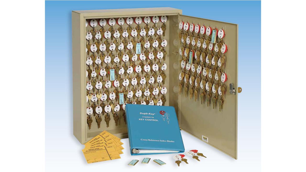 Dupli Key 174 Two Tag Key Cabinet Locksmith Ledger