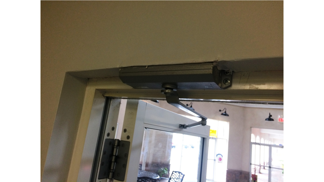 Top Jamb Closer Installation And Service Tips Locksmith