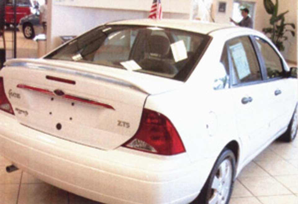 A Ford Focus With Potentially Chronic Trunk Lockout Problem Show Caption Hide