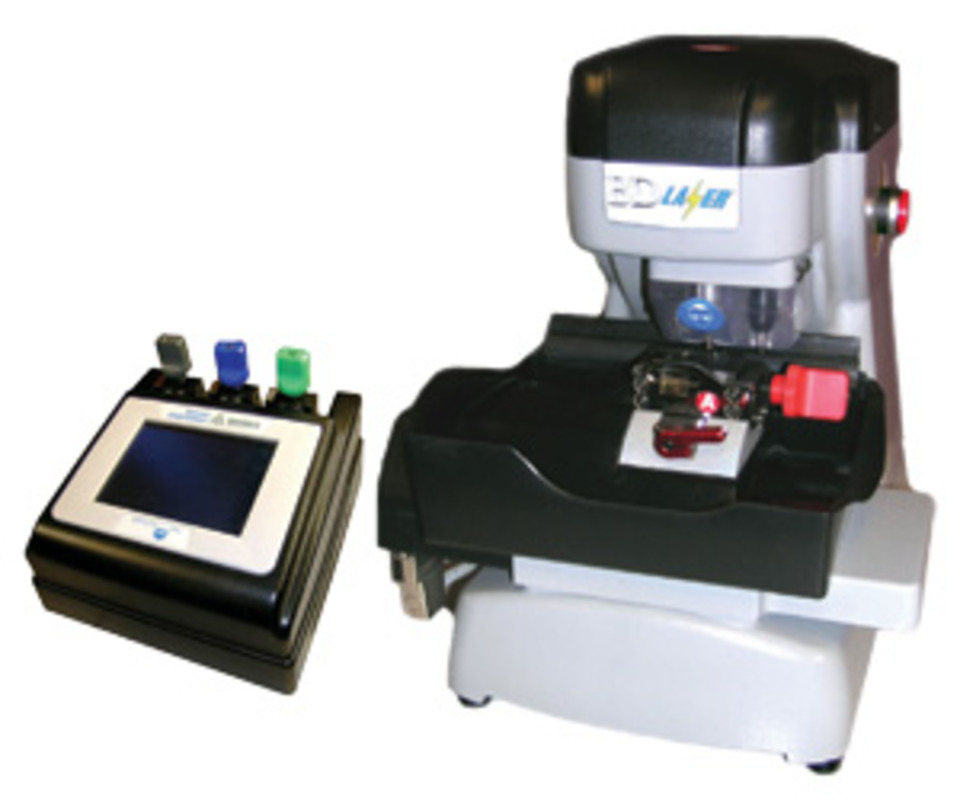 Bd Laser Computerized High Security Key Machine