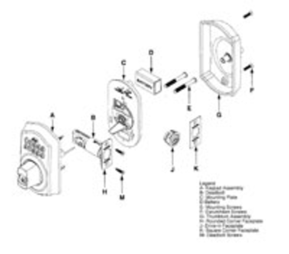 schlage keypad deadbolt  key or keyless operation