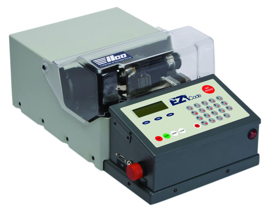 Kaba Ilco Corp  Ilco EZ®-Code in Key machine, key cutters
