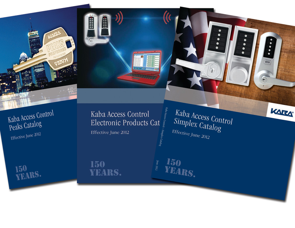 New Kaba Access Control Product Catalogs Available