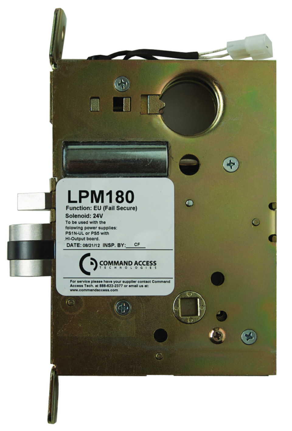 Electrified Mortise Lock Command Access Lpm180