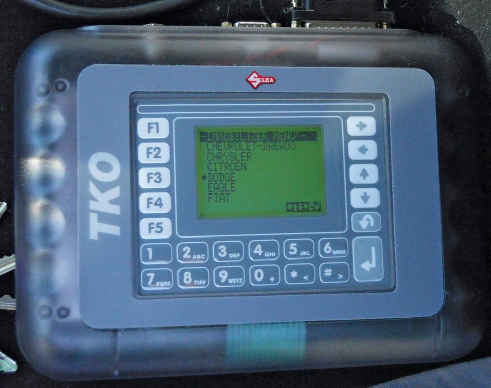 Programming 2007 Dodge Ram Pickup Using the TKO Device