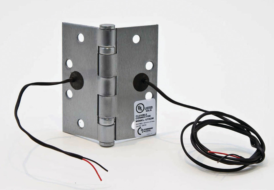 Electrifying Door-Mounted Locks, Contacts and Switches With Power