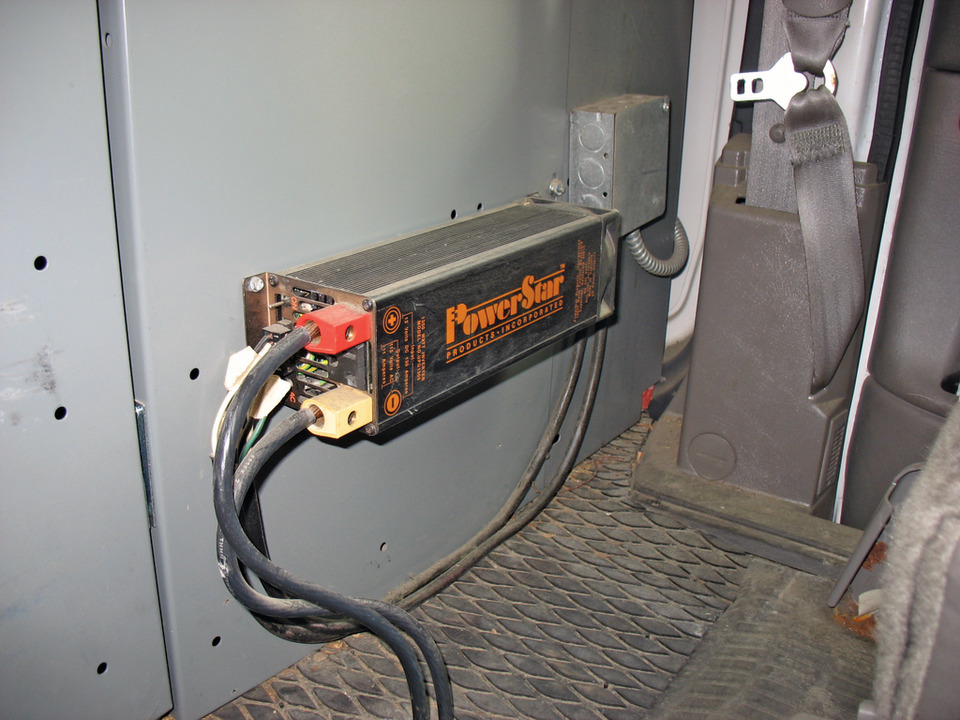 Inverter Basics: 115VAC at Your Fingertips on fan wiring, generator wiring, plc wiring, heater wiring, timer wiring, sensor wiring, motor wiring, audio wiring, keyboard wiring, ice maker wiring, satellite dish wiring, shore power wiring, lamp wiring, servo wiring, dvd player wiring, heat pump wiring, rectifier wiring, windlass wiring, electricity wiring, compressor wiring,