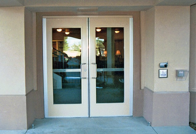 Servicing and Upgrading Storefront Doors on