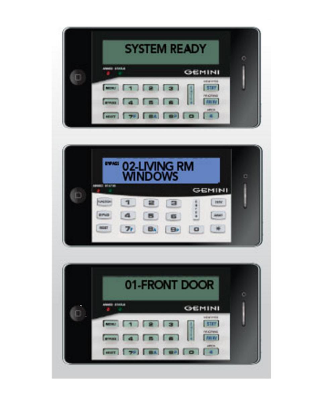 Napco Security Systems Napco Gemini Virtual Keypad in Alarms