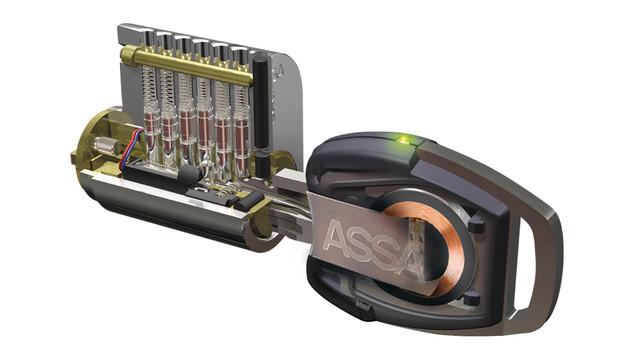 Electromechanical High Security Cylinder