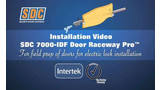 Intertek Perfect Raceway SDC Door Core Drill for Electric Locks