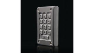 Vandal-Resistant Keypad