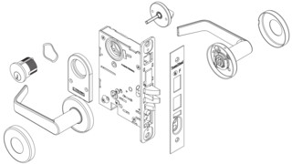 Indicator Mortise Lock Series