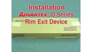 Advantex 10 Series Rim Device Install