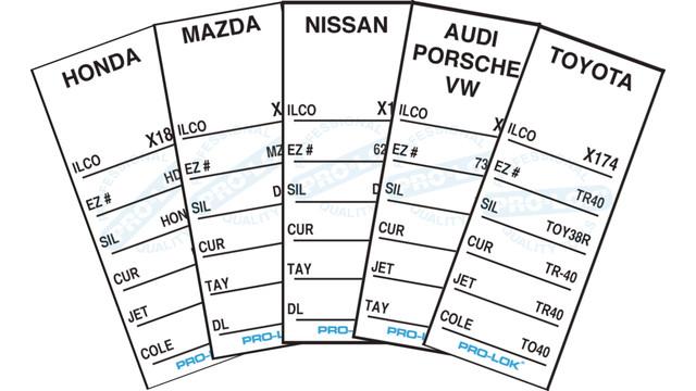 Automotive Key Tag System