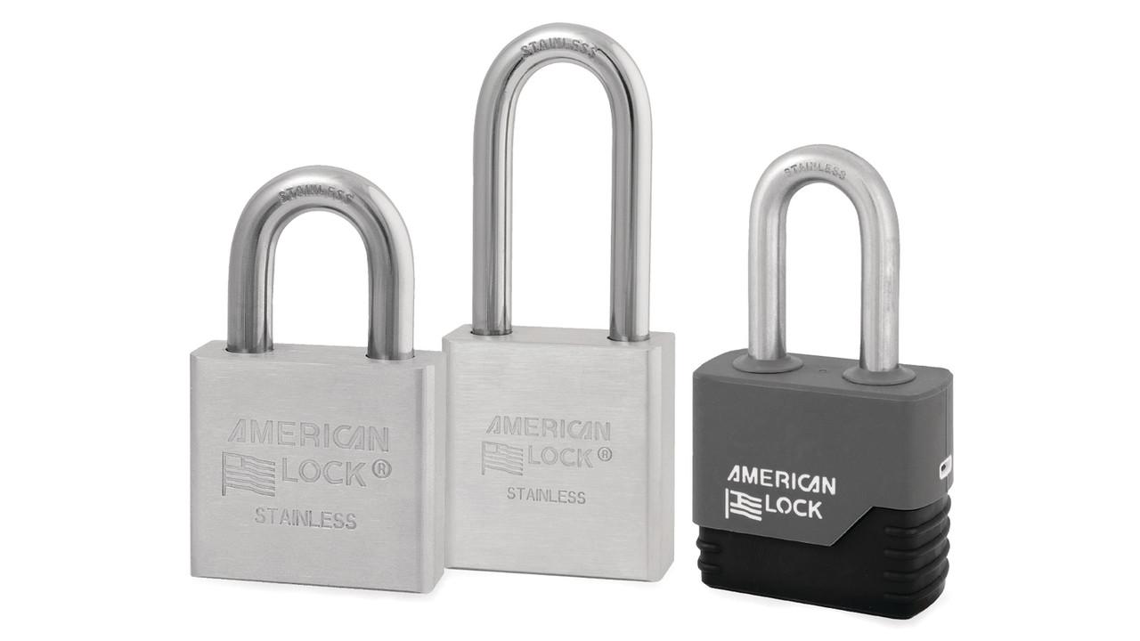 Stainless Steel Solid Body Padlocks Locksmith Ledger
