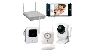 Napco iSeeVideo WiFi Camera Kits for Remote Video on Smartphones & PCs