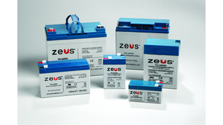 ZEUS Sealed Lead Acid Batteries