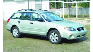 Servicing the 2005 Subaru Outback, Part 1