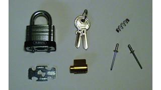 Installing the Abus Rekeyable 41UK Series Laminated Padlock