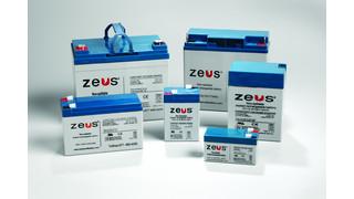 ZEUS Sealed Lead Acid Batteries