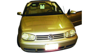 Servicing the 2001 VW Cabrio