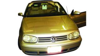 Servicing the 2001 VW Cabrio