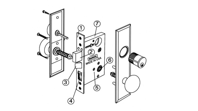 servicing and retrofitting mortise locks