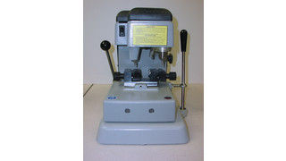 Ilco 057 HS Key Machine Gets The Job Done