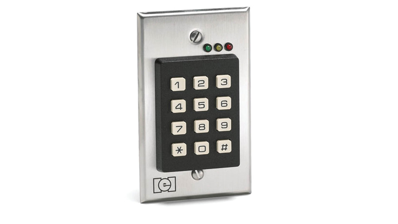 Keypad Options Standalone Weatherproof Dual Credential