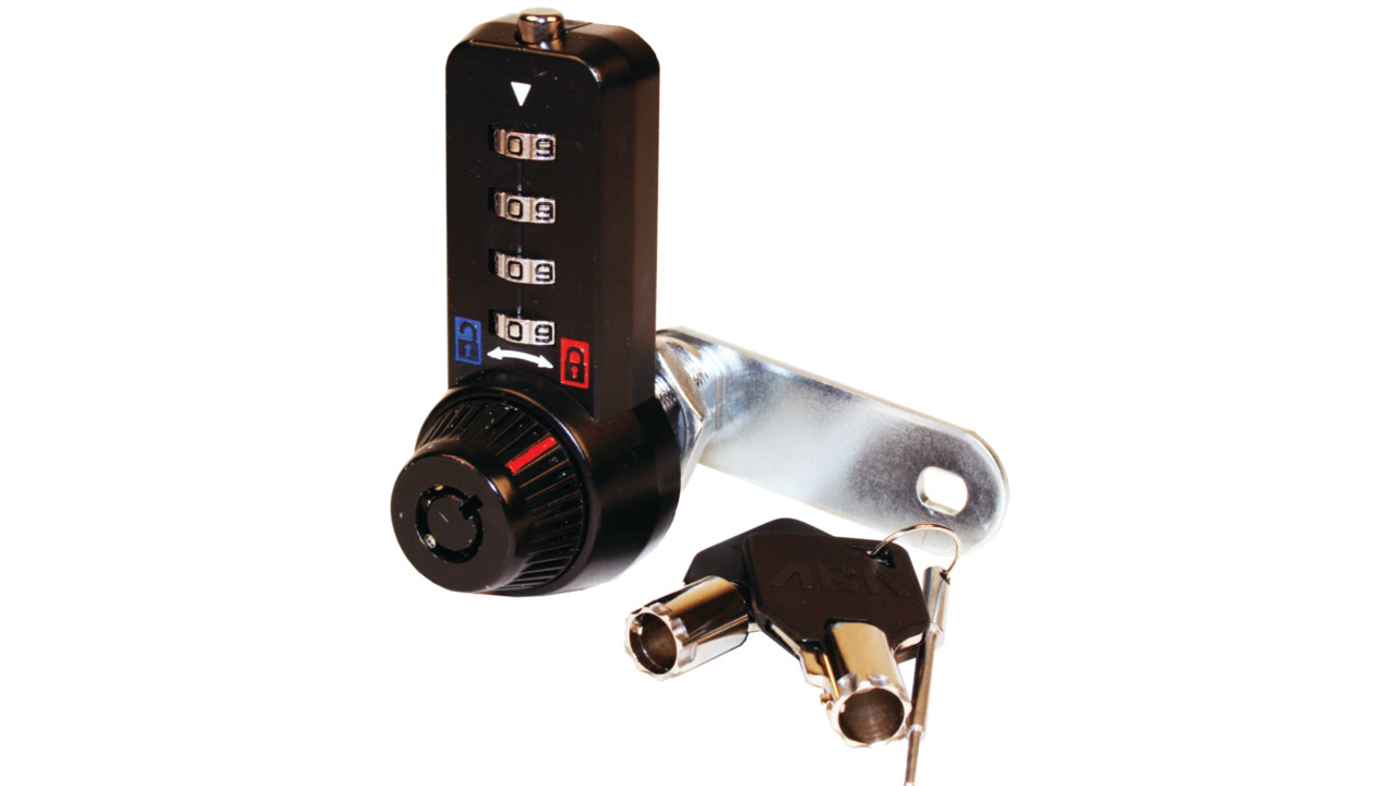 Combi Cam Ultra Black Finish Locksmith Ledger