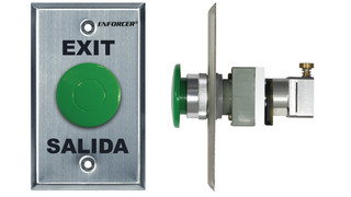 Request-to-Exit Plates with Pneumatic Timers