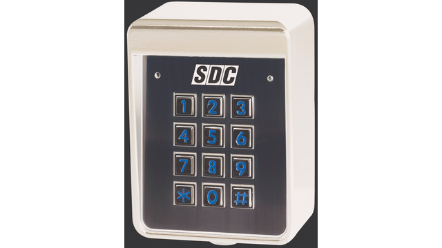 keypad options standalone weatherproof dual credential. Black Bedroom Furniture Sets. Home Design Ideas