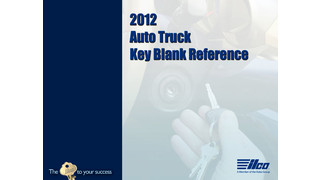North American Auto/Truck Key Blank Reference