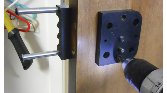 Retrofiting Knob to Lever Locks Made Easy