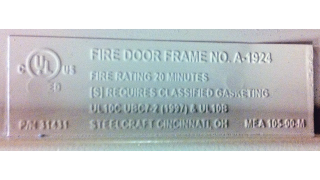 Fire Door Essentials Locksmith Ledger